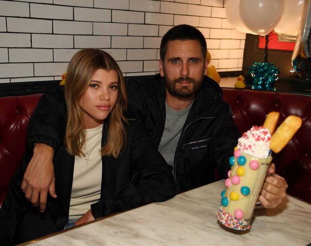 Kourtney Kardashian & Sofia Richie Have Beverly Hills Spa Date